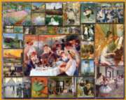 The Impressionists - 1000pc Jigsaw Puzzle By White Mountain
