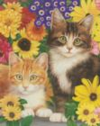 Kitties & Flowers - 550pc Jigsaw Puzzle By White Mountain