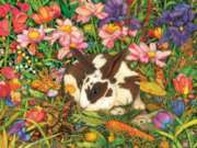 Puzzles for Adults - Garden Bunnies
