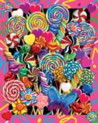 Lollipop Bouquet - 550pc Jigsaw Puzzle By White Mountain