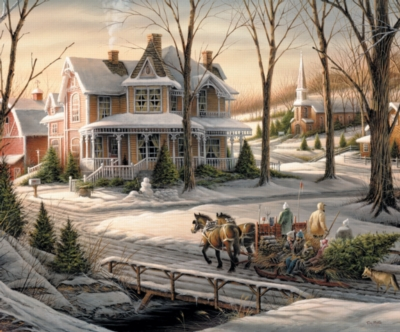Homeward Bound - 1000pc Jigsaw Puzzle By White Mountain