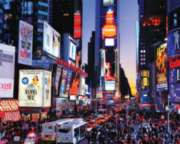 Times Square - 1000pc Jigsaw Puzzle By White Mountain