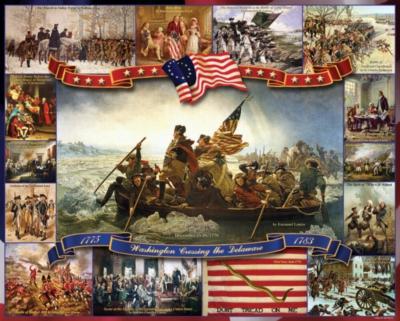 Jigsaw Puzzles - Washington Crossing the Delaware