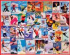 Ski Posters - 1000pc Jigsaw Puzzle By White Mountain
