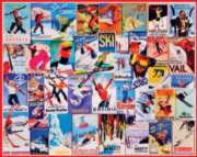Jigsaw Puzzles - Ski Posters