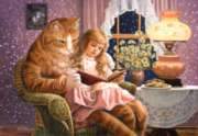 Home Is Where the Cat Is - 1500pc Jigsaw Puzzle by Castorland