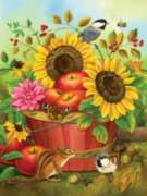 Large Format Jigsaw Puzzles - Fall Basket