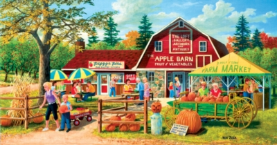 Harvest Market - 500pc Jigsaw Puzzle by Sunsout