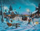 Winter Bliss - 1000pc Large Format Jigsaw Puzzle By Sunsout