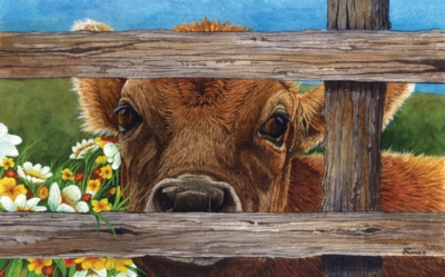 Large Format Jigsaw Puzzles - Brown Eyed Girl