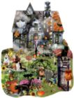 Spooky House - 1000pc Shaped Jigsaw Puzzle By Sunsout