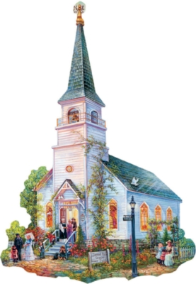 Saved by Grace - 1000pc Shaped Jigsaw Puzzle By Sunsout