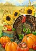 Hello Turkey - Garden Flag by Toland
