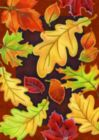 Leafy Leaves - Garden Flag by Toland