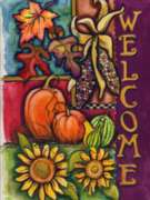 Harvest Welcome - Garden Flag by Toland