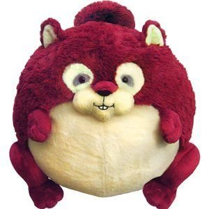"Red Squirrel - 15"" Squishable"