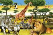 Cobble Hill Children's Puzzles - African Plains