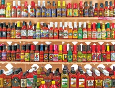 Springbok Jigsaw Puzzles - Spicy, Hot!