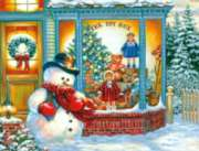 Springbok Jigsaw Puzzles - Frosty's Toy Box
