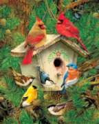 Feathered Retreat - 1000pc Jigsaw Puzzle by Springbok