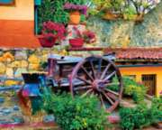 Colorful Courtyard - 1000pc Jigsaw Puzzle by Springbok