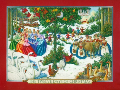 Music Puzzles - Twelve Days of Christmas