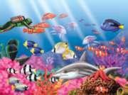 Springbok Jigsaw Puzzles - Undersea World
