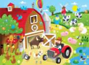 Barnyard Fun - 36pc Jigsaw Puzzle by Springbok