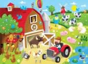 Springbok Jigsaw Puzzles - Barnyard Fun