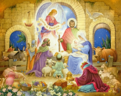 Glorious Nativity - 1000pc Jigsaw Puzzle