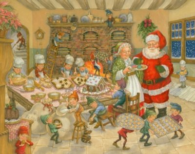 Santa's Kitchen - 1000pc Jigsaw Puzzle