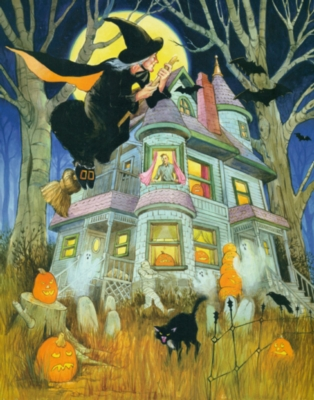 All Hallows Eve - 1000pc Jigsaw Puzzle