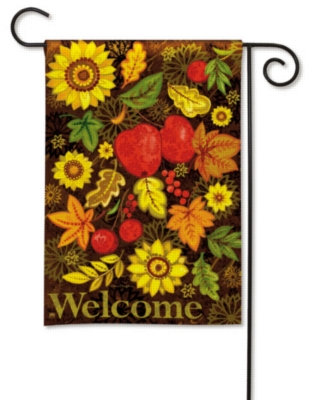 Autumn Gifts - Garden Flag by Magnet Works
