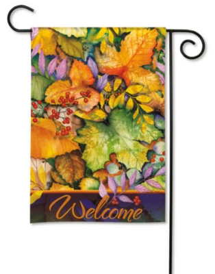 Colors of Autumn - Garden Flag by Magnet Works