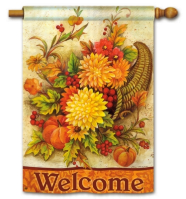 Harvest Mums - Standard Flag by Magnet Works