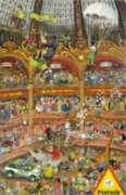Retail Circus - 1000pc Jigsaw Puzzle by Piatnik