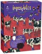 Impossibles: Cow Country - 750pc Jigsaw Puzzle by University Games