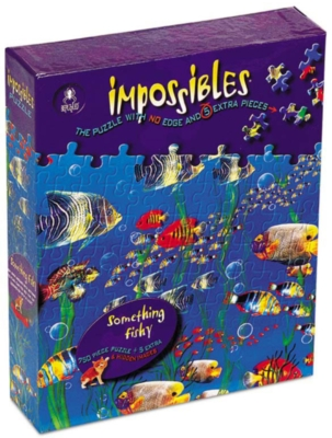 Puzzles for Adults - Impossibles: Something Fishy