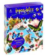 Impossibles: Butterfly Kisses - 750pc Jigsaw Puzzle by University Games