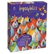 Impossibles: Raining Cats & Dogs - 750pc Jigsaw Puzzle by University Games