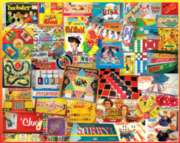 The Games We Played - 1000pc Jigsaw Puzzle By White Mountain
