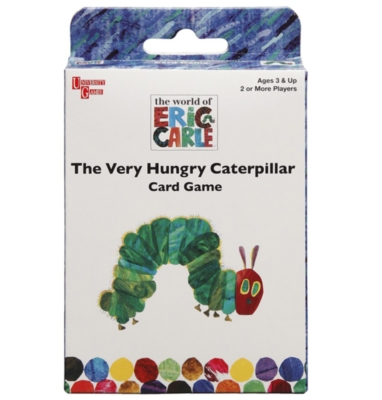 The Very Hungry Caterpillar - Card Game by University Games