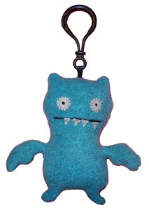 Ice Bat -  4'' Keychain by Uglydoll