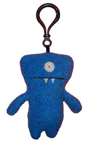 "Wedgehead - 4"" Keychain by Uglydoll"