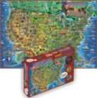 Children's Map Of The USA - Giant 500pc Educational Jigsaw Puzzle