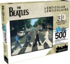 The Beatles - Abbey Road (Lenticular) - 500pc Music Jigsaw Puzzle by Aquarius