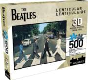 The Beatles - Abbey Road (Lenticular) - 500pc Jigsaw Puzzle by Aquarius