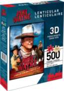 John Wayne (Lenticular) - 500pc Jigsaw Puzzle