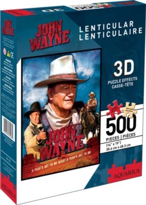 Jigsaw Puzzles - John Wayne (Lenticular)
