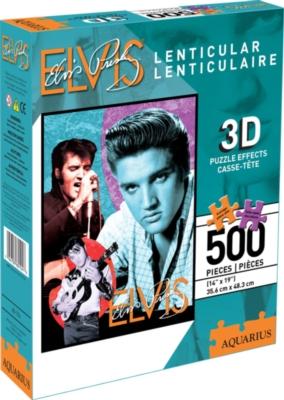Music Puzzles - Elvis (Lenticular)